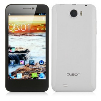 Cubot GT99 Smartphone Android 4.2 MTK6589 Quad Core 4.5-inch 12.0 MP Camera- White