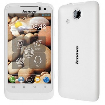 Lenovo LePhone P700I Android 4.0 OS 5.0 MP Camera 4-inch IPS Screen 3G GPS - White