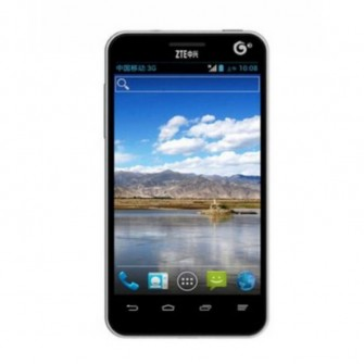 ZTE U795 Android 4.0 Mobile Phone Single Core Processor 4-inch Screen (Black)