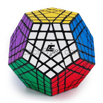 Cube4U (C4U) Gigaminx Speed Cube Black