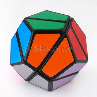 LanLan 2x2 Dodecahedron Magic Cube Black