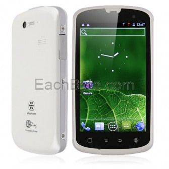 Haier W718 IP67 Smart Phone Android 4.0 MTK6575 1.0GHz 3G GPS 4-inch- White
