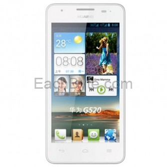 Huawei G520 Smartphone MSM8225Q Quad Core Android 4.1 3G GPS 4.5-inch IPS Screen- White