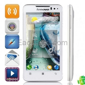 Lenovo P770 Android 4.1.1 WCDMA Smartphone w/ 4.5-inch Capacitive Screen, Wi-Fi And GPS - White