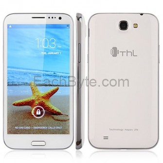 ThL W7+ Quad Core Smart Phone Android 4.2 MTK6589 5.7-inch HD IPS Screen 3G GPS 3.2 MP Front Camera