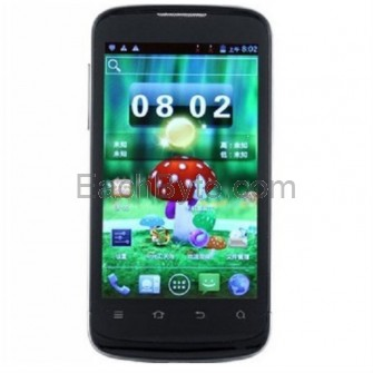 ZTE V889M Android 4.0 MTK6577 Dual Core 512 MB/4 GB 4-inch Capacitive Screen 3G Smartphone with GPS Camera (Black)