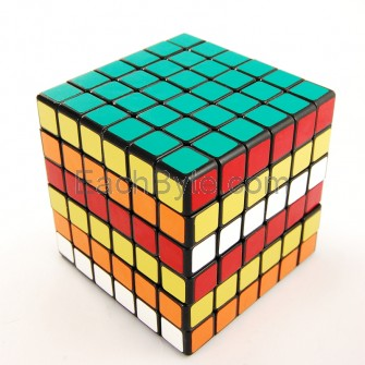 Shengshou  6x6x6 Magic Cube Black