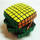 YJ-7x7x7 Magic Cube Black
