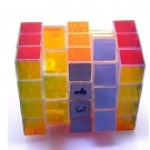 TomZ & mf8 Transparent Full Functional 3x4x5 345 Plastic Magic Cube Twist Puzzle