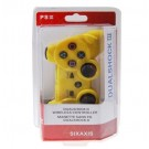DualShock 3 Rechargeable Wireless SIXAXIS Game Controller for PS3 Yellow