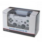 Dual Shock 3 Wireless Bluetooth Six AXIS Game Controller for PS3 White + Black