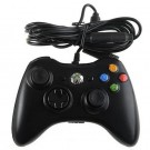 Black Wired Controller Joypad Joystick Game Pad With 3-Level Rumble Control For Microsoft Xbox360
