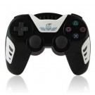 Dual Vibration Bluetooth Wireless Controller Gamepad for Sony PS3 (Black and White)