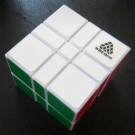 WitEden 3x3x2 332 Camouflage Speed Cube Magic Cube White