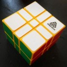 WitEden 3x3x2 332 Camouflage Speed Cube Magic Cube Yellow