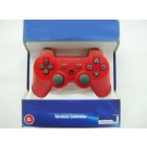new package for ps3 2.4GHz Wireless Dual Shock 3 Sixaxis bluetooth game Controller gamepad joystick game pad for PS3 Red