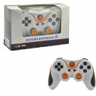 New Dual Shock 3 Wireless Bluetooth SIX AXIS Controller for PS3 White and Red with Color Joysticks