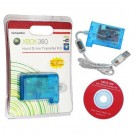Hard Drive Transfer Kit with Bright SMD LED for Xbox360 - Transparent Blue