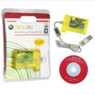 Hard Drive Transfer Kit with Bright SMD LED for Xbox360 - Transparent Yellow