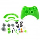 Replacement Housing Shell Case Cover for XBOX360 Wireless Controller - Green