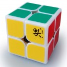 Dayan 50mm 2x2 Speed Cube Magic Cube White