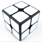 Funs cube 2x2 50mm Shishuang black with white tiles