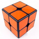 Funs cube 2x2 50mm Shishuang black with orange tiles