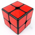 Funs cube 2x2 50mm Shishuang black with red tiles