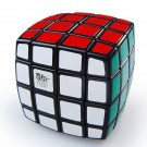 QJ Pillow Shaped 4x4 Magic Cube Black Body
