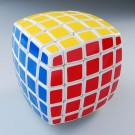 QJ Pillow-shaped 5x5 Magic Cube White body