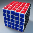 QJ 5x5 Tile Speed Cube White