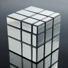 Shengshou Silver Mirror 3X3 Speed Cube Puzzle Black