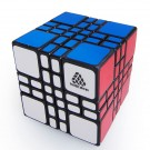 WitEden 4x4x4 Mixup Plus Magic Cube Black