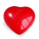 YJ 3x3 Heart Cube Red