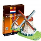 """CubicFun 3D Puzzle """"Holland Windmill(The Kingdom of the Netherlands)  """""""