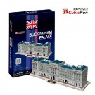 Free Shipping!diy 3d Puzzle Paper Model Buckingham Palace 61pcs Home/office Decoration