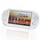 """JXD-S5110b 5"""" Capacitive Screen Dual Core Android 4.1 Tablet / Smart Game Console w/ Wi-Fi - White"""