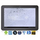 Freelander PD90 10.1-inch Dual Core Android 4.1 Tablet PC w/ Wi-Fi / TF / Bluetooth - Black + Grey
