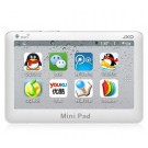 JXD S18 Mini Pad Tablet PC 4.3-inch Resistive Screen Android 4.0 4 GB White