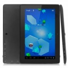 Q88 III 7-inch Android 4.0 Tablet PC Allwinner A13 512 MB/4 GB Black