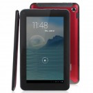 F40 7-inch Dual Core Cortex-A7 Tablet PC Allwinner A20 1024×600 Capacitive Screen 1G/8G Dual Camera-Red