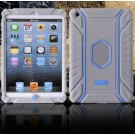 HOCO Falling Preventing and Shock Resistant Silicone Soft Back Cover Case for iPad Mini (Gray)