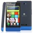 Cubot C9 Smart Phone Android 2.3 OS SC6820 1.0GHz 4-inch 3.0 MP Camera- Blue