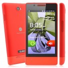 Cubot C9 Smart Phone Android 2.3 OS SC6820 1.0GHz 4-inch 3.0 MP Camera- Red