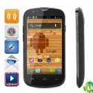 Citric A209W Dual Core Android 4.0.4 WCDMA Bar Phone w/ 4-inch IPS, Wi-Fi And GPS - Black
