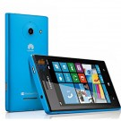 Huawei W1 Windows Phone 8 MSM8230 Dual Core 512 MB/4 GB GPS Dual Camera 4-inch IPS Screen 3G Smartphone (Blue)
