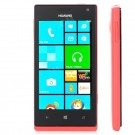 Huawei W13G Windows Phone 8 WCDMA Bar Phone w/ 4-inch Capacitive Screen, Wi-Fi And GPS - Black + Red