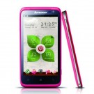Lenovo LePhone S720 4.5-inch IPS QHD Screen Android 4.0 MTK6577 Dual Core 3G 1.3 MP Front Camera- Pink