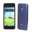 ZTE V955 Android 4.0 WCDMA Bar Phone w/ 4.5-inch Capacitive Screen, WIFI, GPS And Dual SIM - Dark Blue