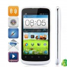 ZTE V889F MSM8225 Dual Core Android 4.0.4 WCDMA Bar Phone w/ 4-inch , Wi-Fi and GPS - White + Black